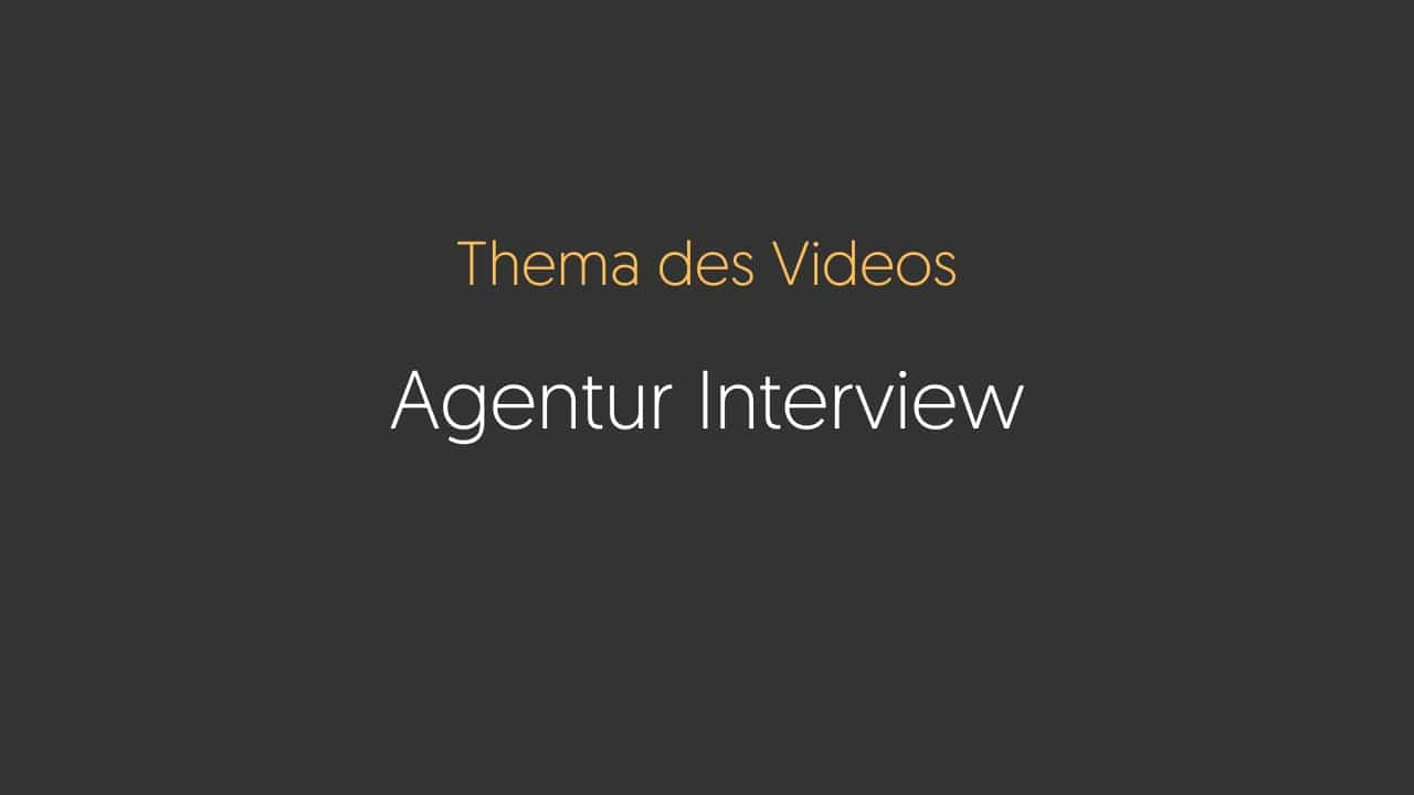 Agentur Talk – Interview mit Michael Filipp (Coaching Erfahrung)